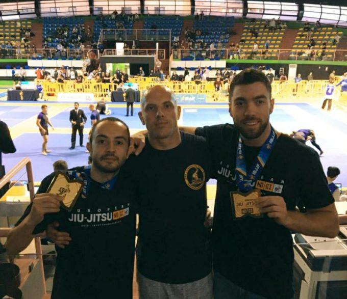 Asd Judo Frascati: Attenni e Cannavale oro e Proietti bronzo all'European Open di brazilian jiu jitsu