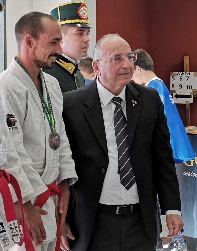 """Asd Judo Frascati, Di Stefano si ricorda ancora come si fa: terzo posto al trofeo """"Città di L'Aquila"""""""