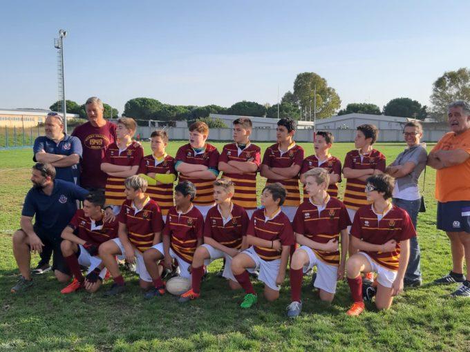 """Rugby Frascati Union 1949, primo successo per l'Under 14. Ascantini: """"Gruppo da formare"""""""