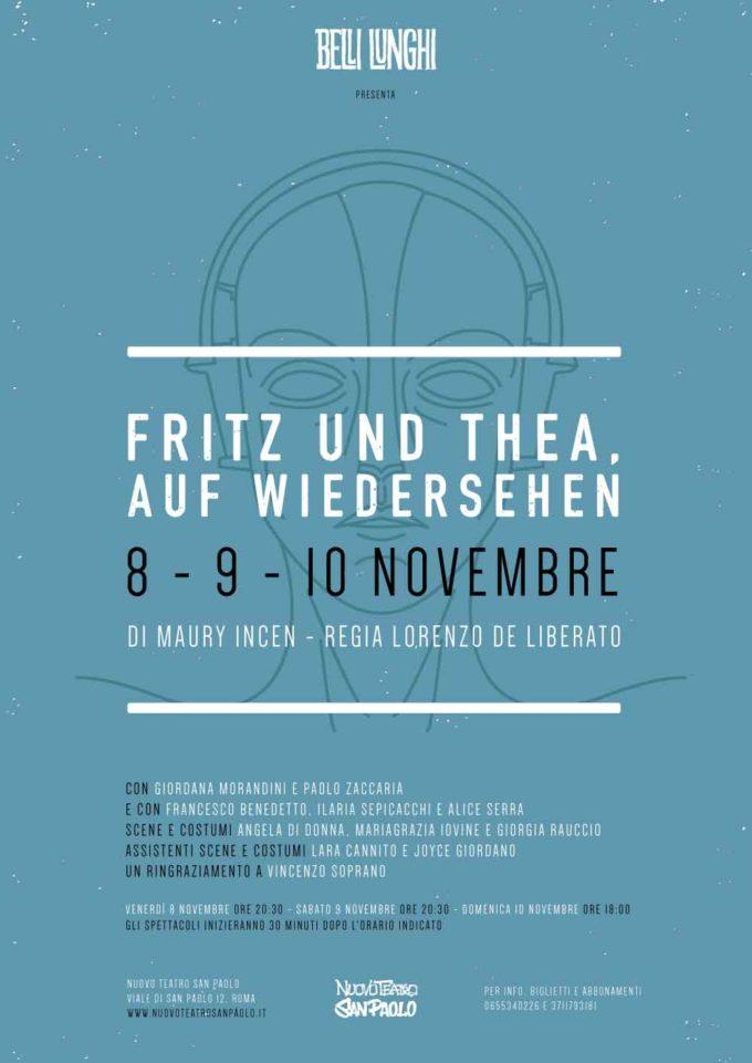 Nuovo Teatro San Paolo – FRITZ UND THEA, AUF WIEDERSEHEN