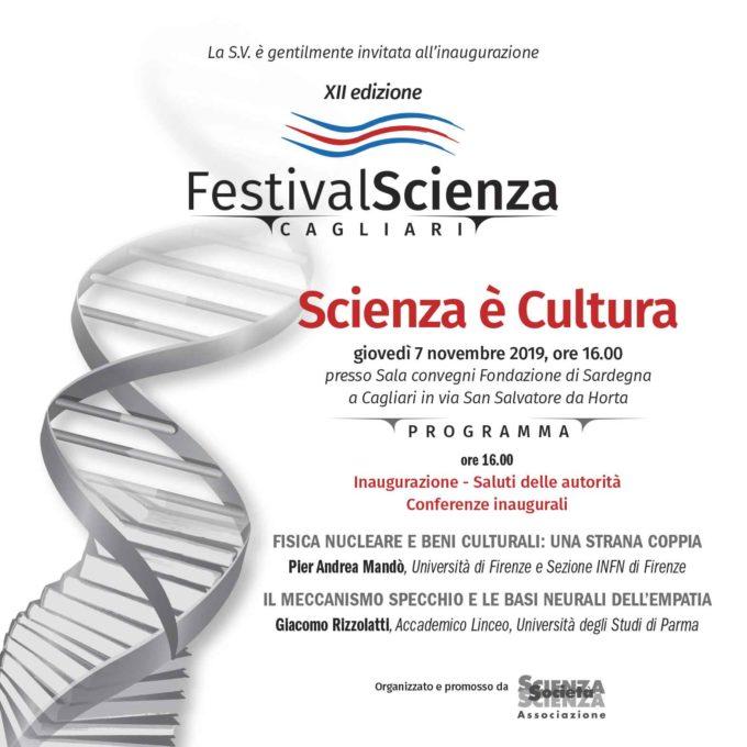 Inaugurazione del Cagliari FestivalScienza