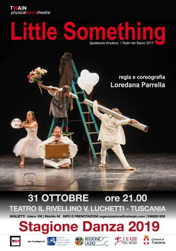 Little Something di Twain physical dance theatre in scena il 31 Ottobre presso il Teatro Il Rivellino – V.Luchetti di Tuscania