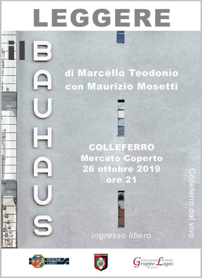 LEGGERE Il Bauhaus