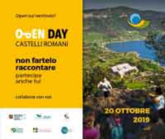 OPEN DAY CASTELLI ROMANI, GROTTAFERRATA IN PRIMA FILA