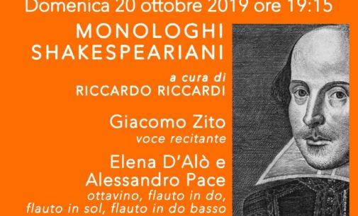"""Ariccia, a Palazzo Chigi """"Monologhi Shakespeariani"""" con gli Sfaccendati"""