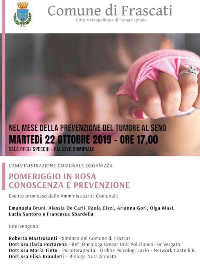 Frascati, un convegno tutto al femminile sull'importanza della prevenzione oncologica