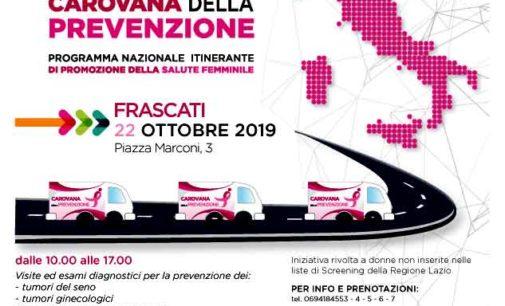 La Carovana della prevenzione arriva anche a Frascati