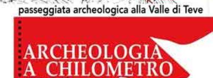 Passeggiata archeologica alla Valle di Teve