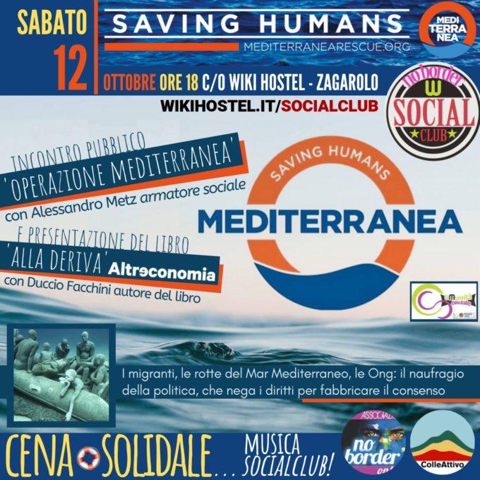 """Saving Humans"": un grande incontro per Mediterranea!"