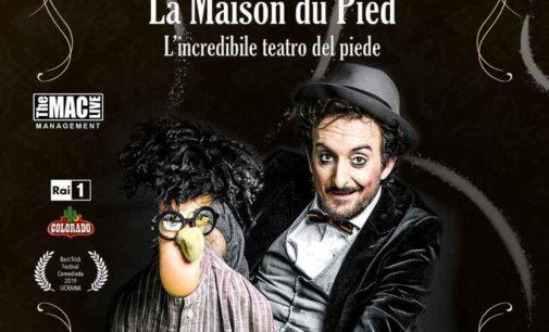 Nuovo Teatro San Paolo – LA MAISON DU PIED – L'INCREDIBILE TEATRO DEL PIEDE