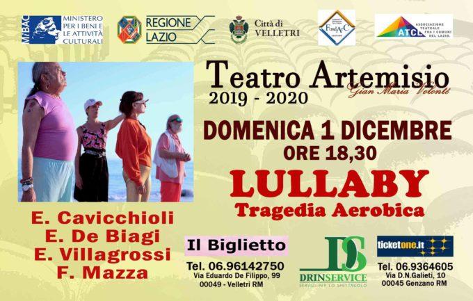 """Si torna al Teatro Artemisio-Volonté domenica 1 dicembre con """"Lullaby"""""""