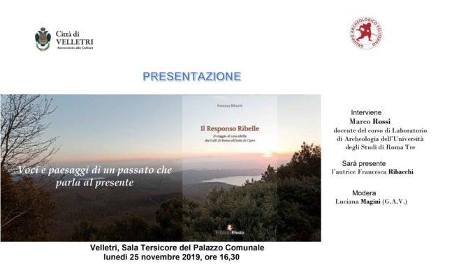 "Velletri – ""Franz Kafka Italia 2016"". ""Il Responso Ribelle"""