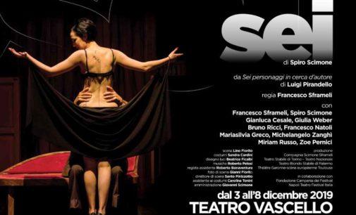 SEI Compagnia Scimone Sframeli dal 3 all'8 dicembre 2019 Teatro Vascello