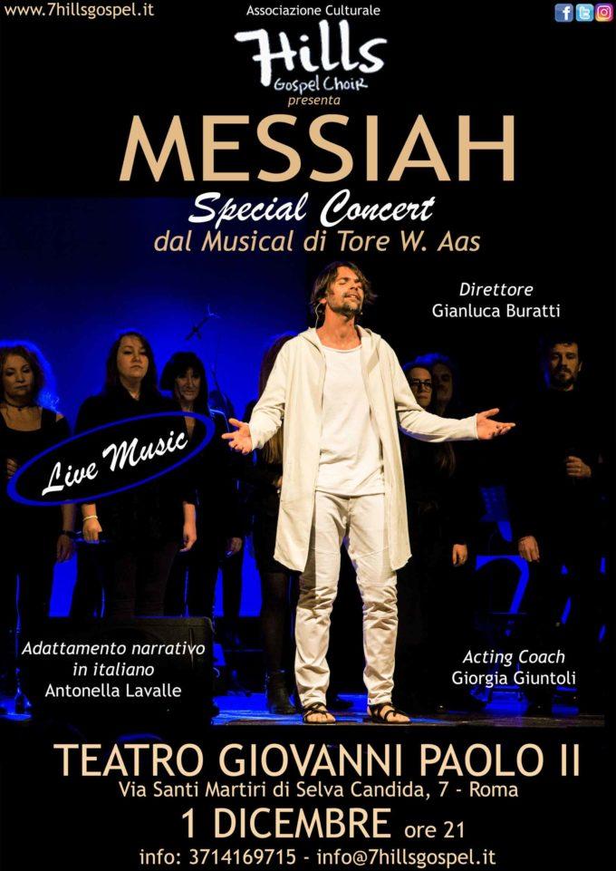 Teatro Giovanni Paolo II – 7 Hills Gospel Choir  in  MESSIAH