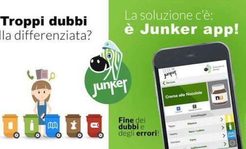 Ad Albano Laziale l'app intelligente sui rifiuti: arriva Junker