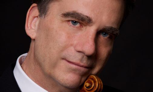 """Le """"Quattrostagioni"""" di Vivaldi  e le """"AmericanFour Seasons"""" di Glass  eseguite da Robert McDuffie,"""