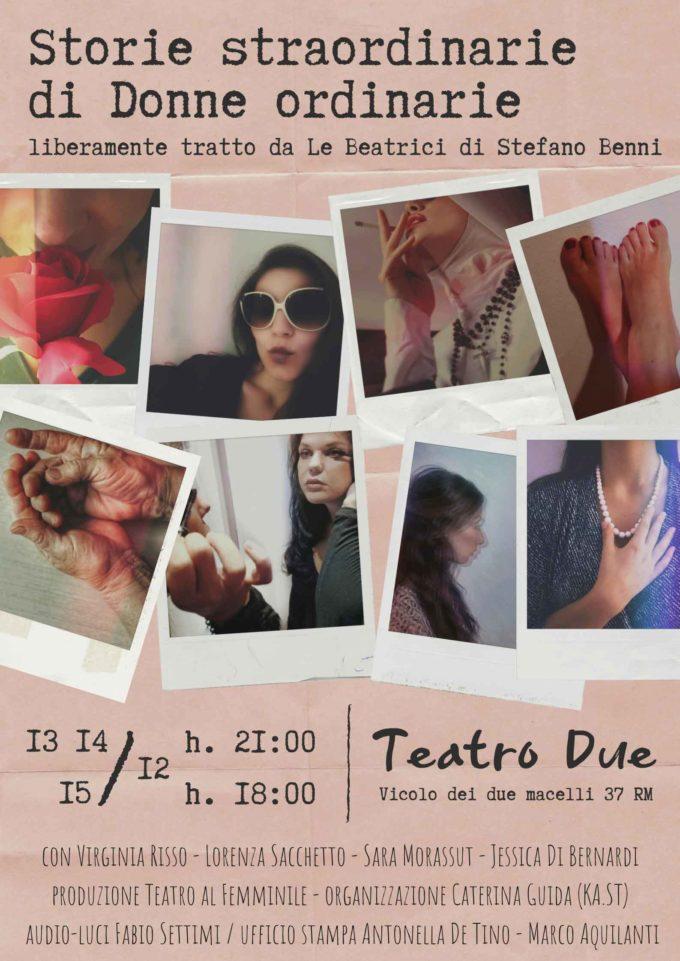 Teatro Due – Storie straordinarie di Donne ordinarie