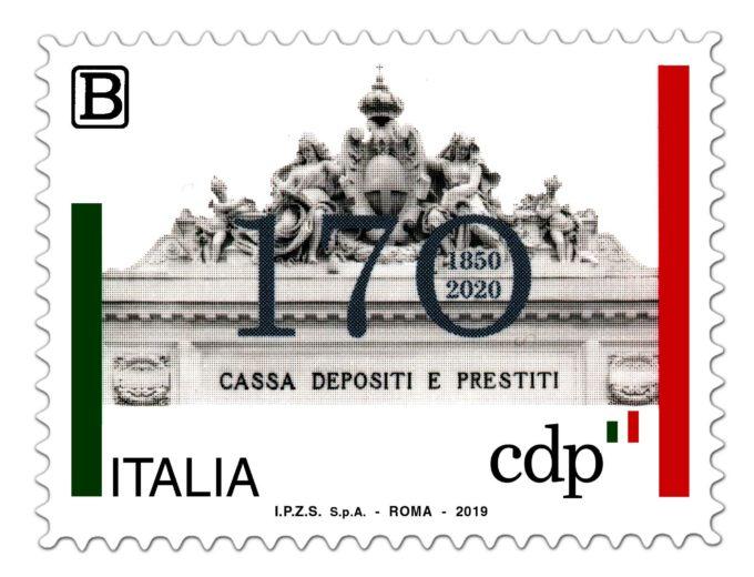 POSTE ITALIANE: EMISSIONE FRANCOBOLLO CASSA DEPOSITI E PRESTITI