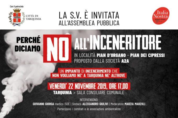 Italia Nostra Etruria mobilitata contro inceneritore