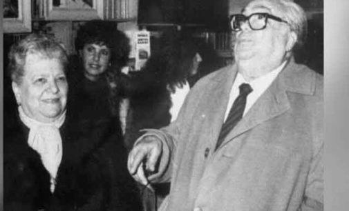Tributo alla romanità: Aldo e Elena Fabrizi