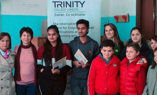"""Cori, Giulianello – Gli alunni dell'Istituto """"Cesare Chiominto"""" premiati dal Trinity College London"""