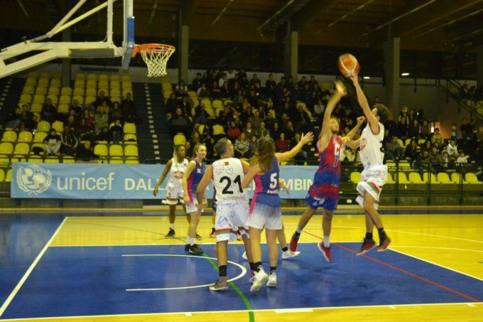 Club Basket Frascati, che spettacolo per la sfida alla Nazionale Artisti organizzata con Unicef