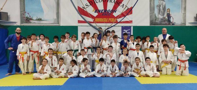 """Asd Judo Frascati, un """"esercito"""" di 82 atleti alla prima tappa del torneo """"Quattro Stagioni"""""""
