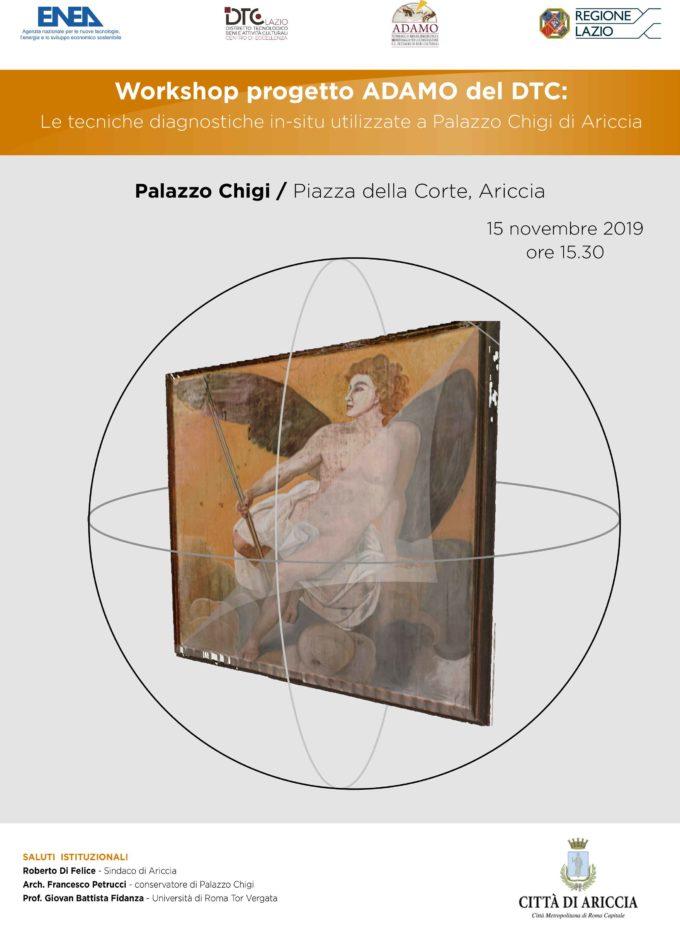 Ariccia – Convegno Progetto ADAMO 15 Novembre 2019