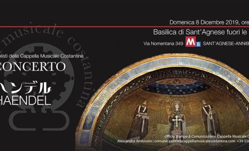 A Roma alla Basilica di Sant'Agnese: Gloria, un giovane e nuovo Händel