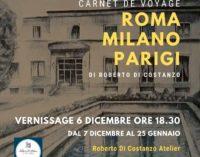 """Carnet de voyage Roma – Milano – Parigi"""