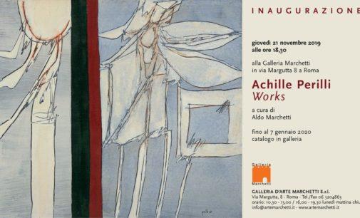 Arte a Roma, Achille Perilli Works