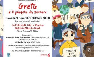 """Giornata degli Alberi: """"Greta e il pianeta da salvare"""""""
