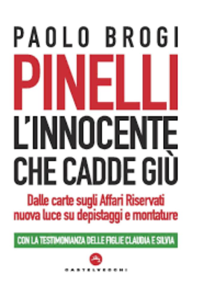 """a Latina """"L'innocente che cadde giù"""" di Paolo Brogi"""