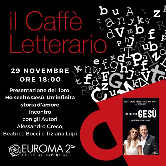 """Alessandro Greco e Beatrice Bocci autori a """"Il caffè letterario"""""""