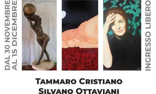 """Ariccia (RM) – Alla Galleria Art Saloon – """"La Forma"""", """"La Luce"""", """"Il Colore""""."""