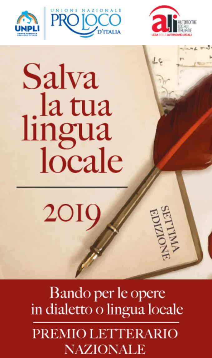 I finalisti della settima edizione del Premio Salva la tua lingua locale