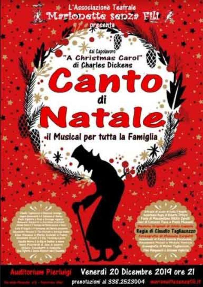 """ll' Auditorium Pierluigi di Palestrina – """"CANTO DI NATALE – IL MUSICAL"""""""