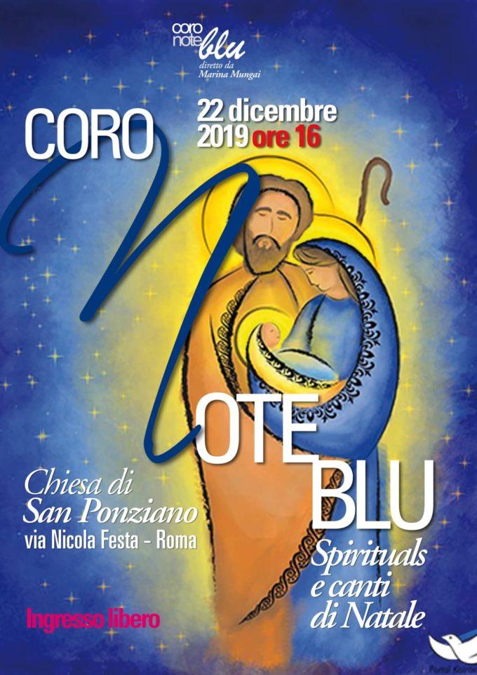 """Concerto di Natale del """"Coro Note Blu"""""""