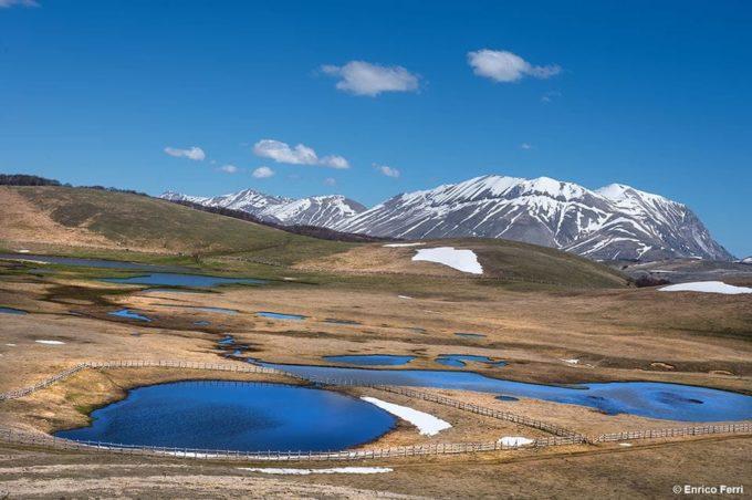 Pantani di Accumoli a rischio deturpazione? 250 trekker in cammino verso un luogo unico