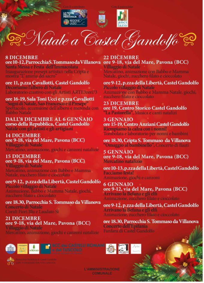 Natale a Castel Gandolfo