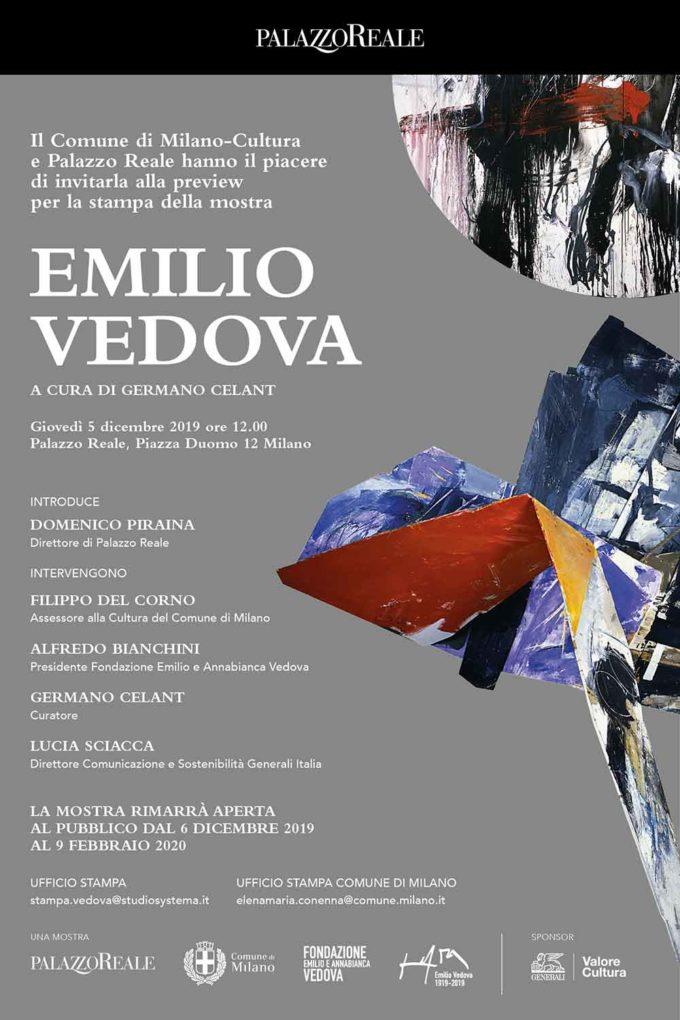 EMILIO VEDOVA – Palazzo Reale, Milano