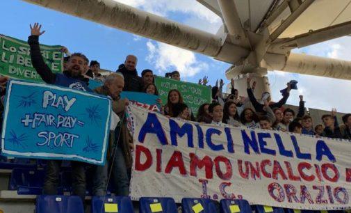 Dalla Scuola allo Stadio, IC Orazio allo stadio Olimpico per la partita di Serie A Lazio-Udinese