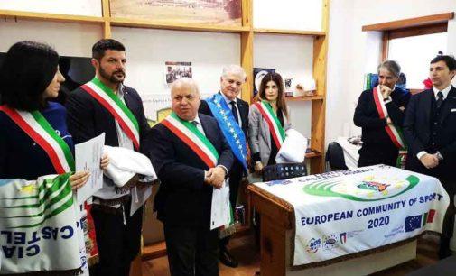 CASTELLI 2020, PRIMA RIUNIONE DELLA COMUNITA' EUROPEA DELLO SPORT
