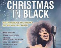 CHRISTMAS IN BLACK  DOMENICA 29 DICEMBRE TEATRO GOLDEN
