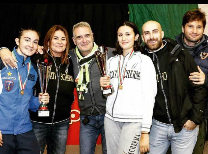 Frascati Scherma, week-end memorabile: due titoli italiani e due bronzi ai campionati Under 23