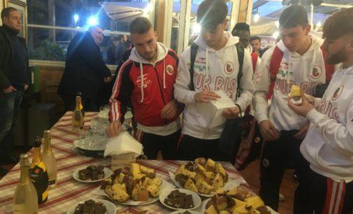 """La capolista Turris vince di misura al """"Trastevere Stadium"""" dopo una gara maschia e tirata"""