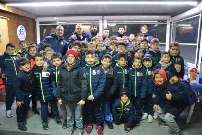 Football Club Frascati, festa di Natale per la Scuola calcio. Il club partecipa a un progetto europeo