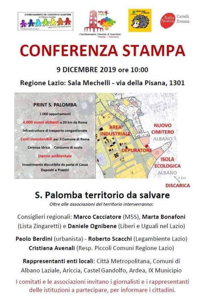 Italia Nostra chiama: S. Palomba territorio da salvare