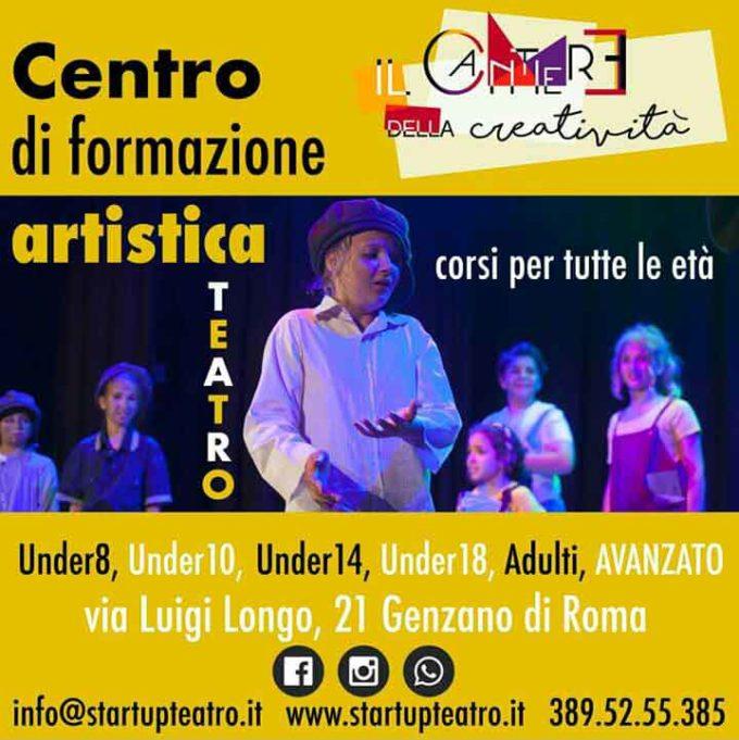 Presentazione dell'associazione StartUp Teatro di Genzano di Roma