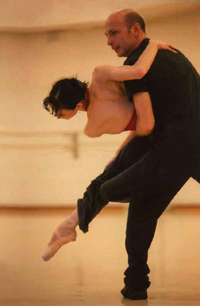 ARCAICO, azione coreografica di Davide Bombana col Balletto di Roma, alla IUC
